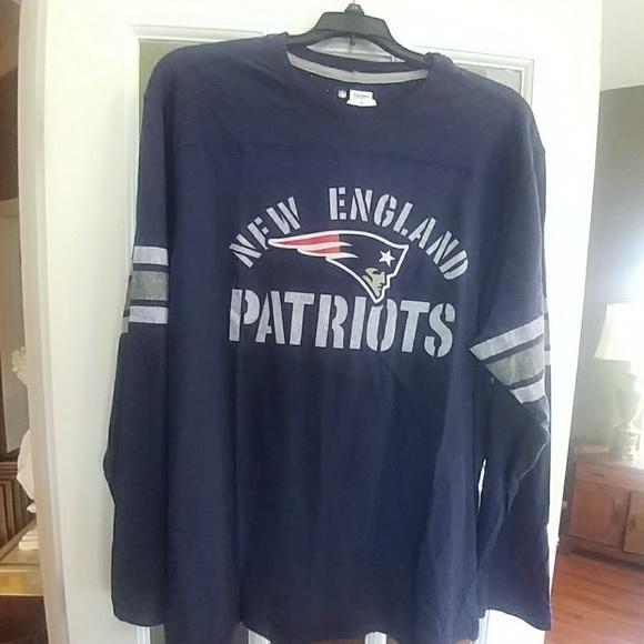 NFL Patriots Team Apparel Corner Blitz Shirt 8583ec0b7